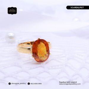 Cincin Kawin Tunangan Emas Kuning Yellow Diamond YG0204